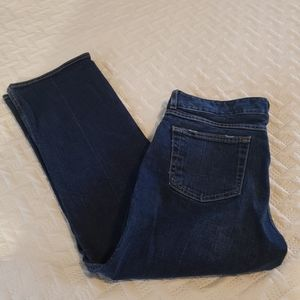 Old Navy Womans Low Waist Size 10 Blue jeans